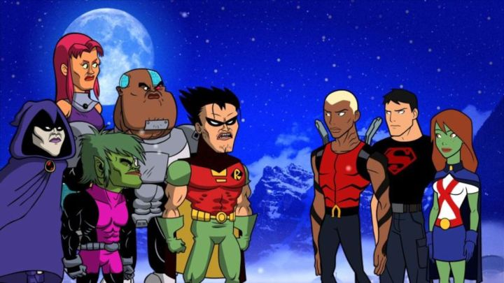 Titans Young Justice